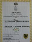 Dyplom w konkursie Nasze Kulinarne Dziedzictwo za dereniówkę